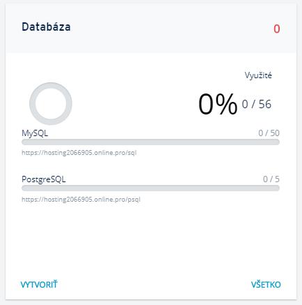 Ako vytvoriť databázu na hostingu v IONOS?