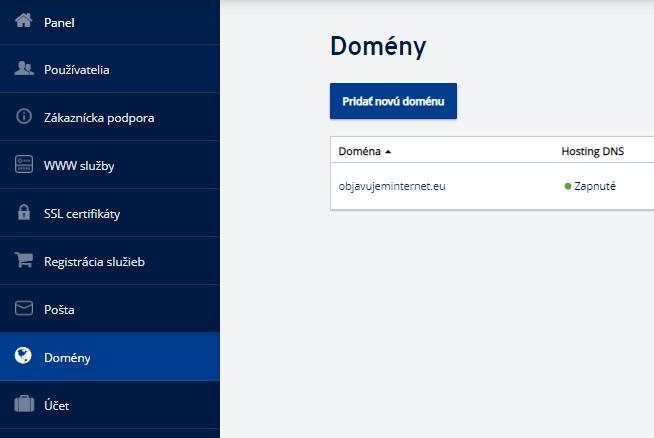 Ako prepnúť doménu na DNS servery v IONOS?
