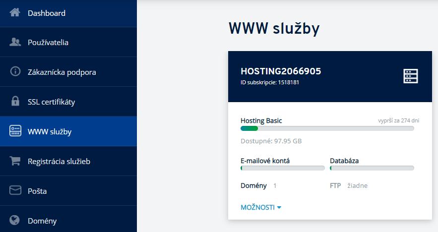 Ako si vytvoriť FTP účet v hostingu cez IONOS.sk?
